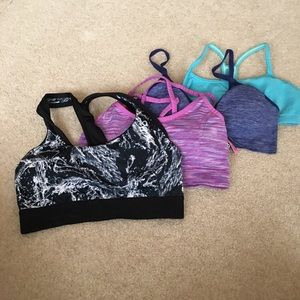 Bundle of 4 Adult Small Sports Bras